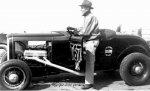 Bill Kenz and the K&L '32 roadster with a Lincoln power plant..jpg