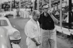 Chris Economaki interviews Cale Yarborough Islip Speedway, 1965.jpg