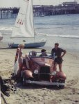 NEAL EAST'S ROADSTER ON THE BEACH.jpg